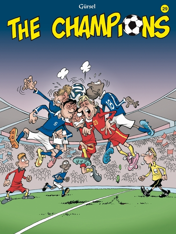 The Champions: 29 CHAMPIONS, Gürsel, Paperback