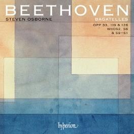 BAGATELLES STEVEN OSBOURNE L. VAN BEETHOVEN, CD
