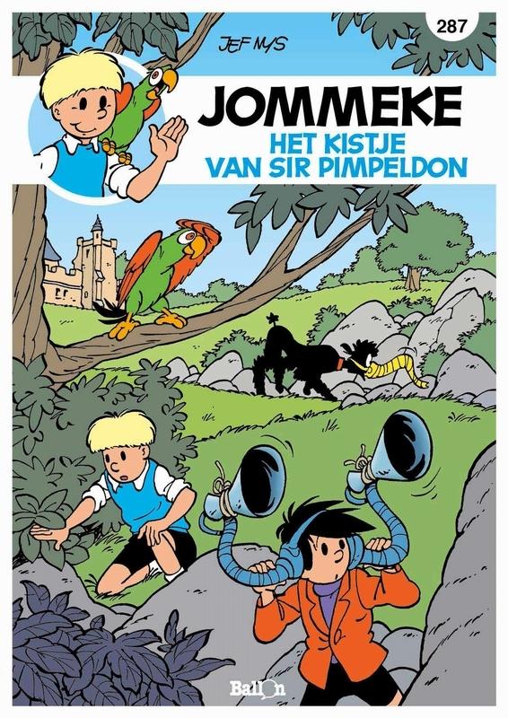 JOMMEKE 287. HET KISTJE VAN SIR PIMPELDON JOMMEKE, Nys, Jef, Paperback