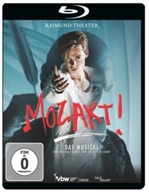 MOZART!-DAS MUSICAL-LIVE Michael Kunze, Blu-Ray