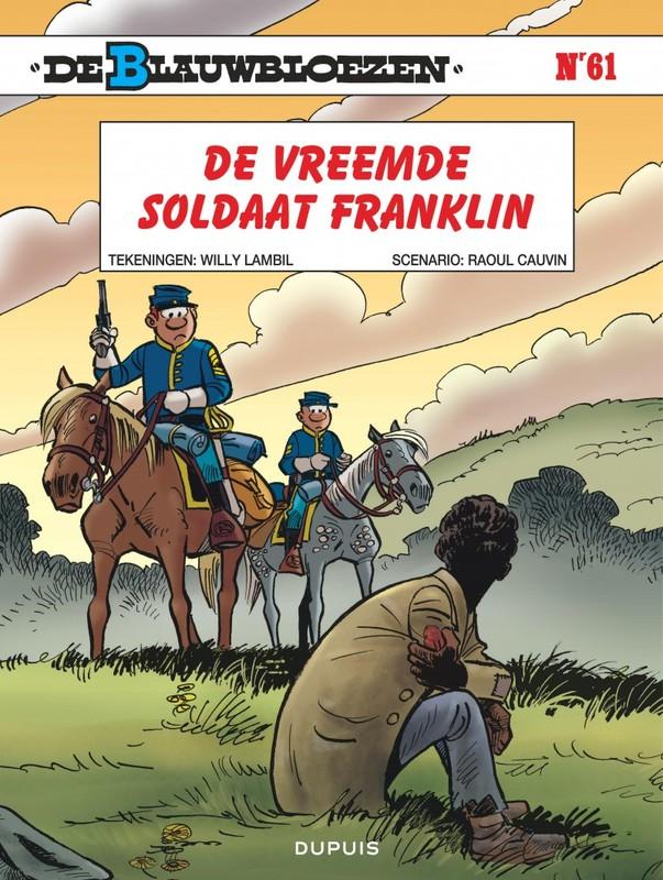 BLAUWBLOEZEN 61. DE VREEMDE SOLDAAT FRANKLIN BLAUWBLOEZEN, Cauvin, Raoul, Paperback