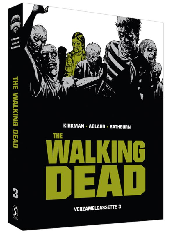 The Walking Dead: Cassette 3 Deel 9 t/m 12 inclusief deel 9 t/m 12, Kirkman, Robert, Paperback