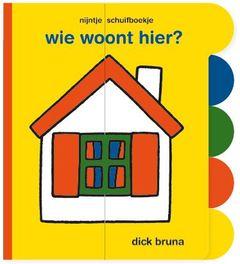 Nijntje Schuifboekje Wie Woont Hier?