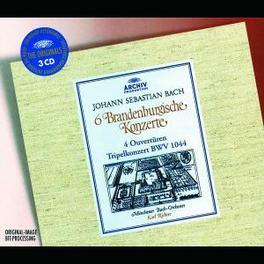 6 BRANDENBURGISCHE KONZER MUNCHENER BACH ORCH./KARL RICHTER Audio CD, J.S. BACH, CD