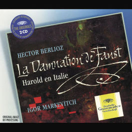 LA DAMNATION DE FAUST MARKEVITCH COND., W/ BERLINER PHILHARMONIKER Audio CD, H. BERLIOZ, CD