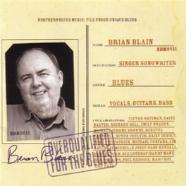 OVERQUALIFIED FOR THE BLU ..BLUES Audio CD, BRIAN BLAIN, CD