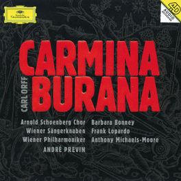 CARMINA BURANA VIENNA PHILHARMONIC/ANDRE PREVIN Audio CD, C. ORFF, CD