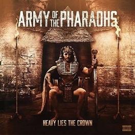 HEAVY LIES THE CROW ARMY OF THE PHARAOHS, Vinyl LP