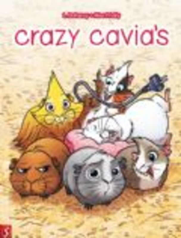 Crazy cavia's (Dufreney, Miss Prickly), 48 p., Paperback Crazy cavia's, Dufreney, Laurent, BKST