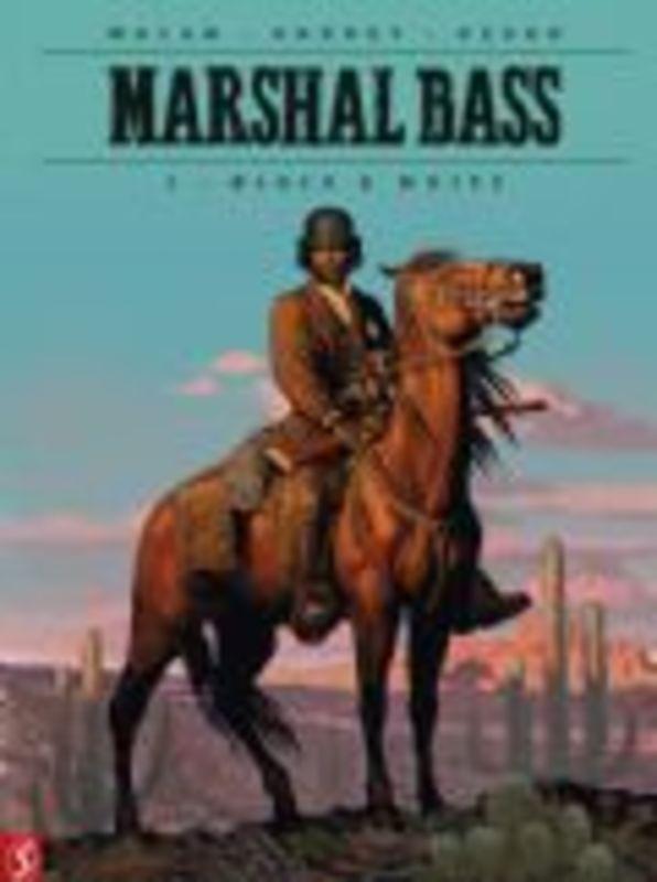 Marshal Bass 1. Black & White (Macan, Kordey, Desko), 56 p., Hardcover Marshal Bass, Macan, Darko, BKSTSPER