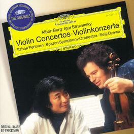 VIOLIN CONCERT/TZIGANE -PERLMAN/BOSTON S.O. Audio CD, BERG/STRAVINSKY, CD