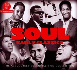 SOUL: EARLY CLASSICS BEN E.KING/MIRACLES/R.CHARLES/W.BELL/J.BROWN/S.COOKE V/A, CD