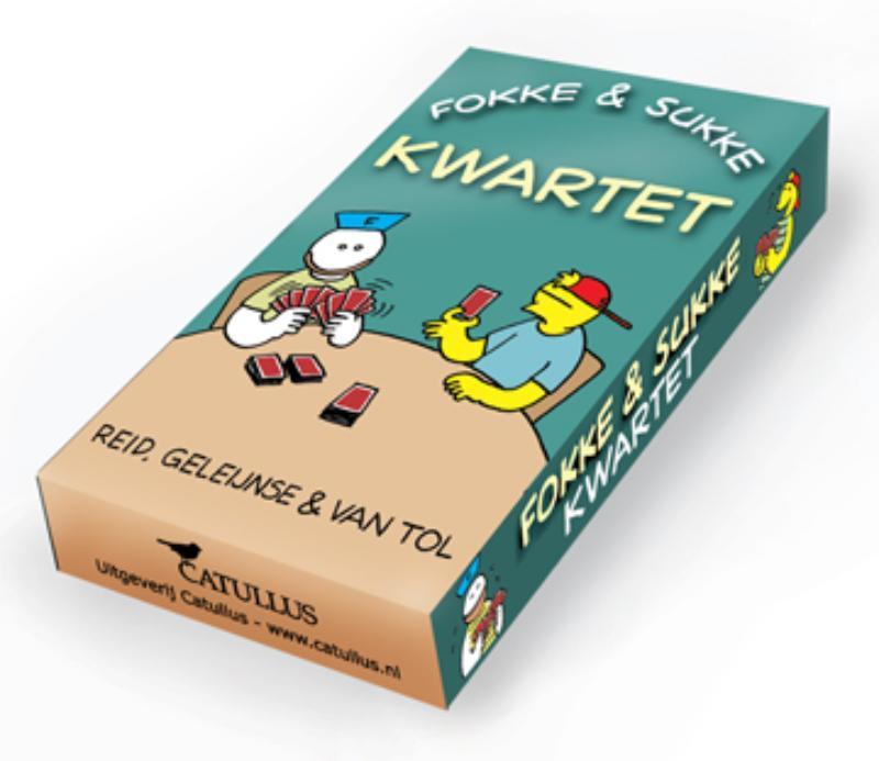 Fokke & Sukke kwartet Fokke & Sukke, John, Stuart Reid, Hardcover