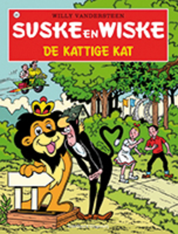 SUSKE EN WISKE 205. DE KATTIGE KAT (NIEUWE COVER) Suske en Wiske, Willy Vandersteen, Paperback