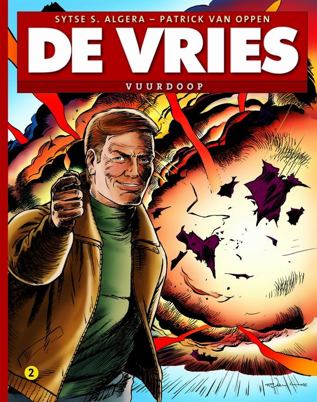 Vuurdoop DE VRIES, Sytse S. Algera, Paperback