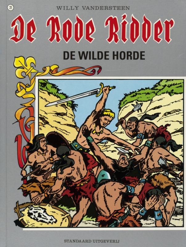 De wilde horde RODE RIDDER, Vandersteen, Willy, Paperback