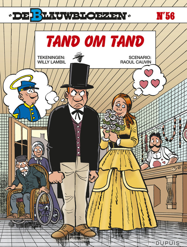 BLAUWBLOEZEN 56. TAND OM TAND Tand om tand, Cauvin, Raoul, Paperback