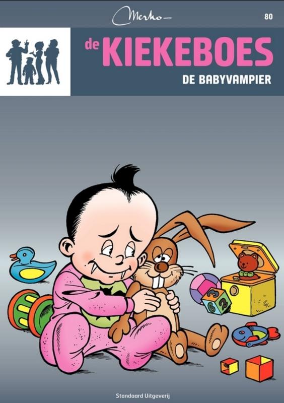 De babyvampier KIEKEBOES DE, Merho, Paperback