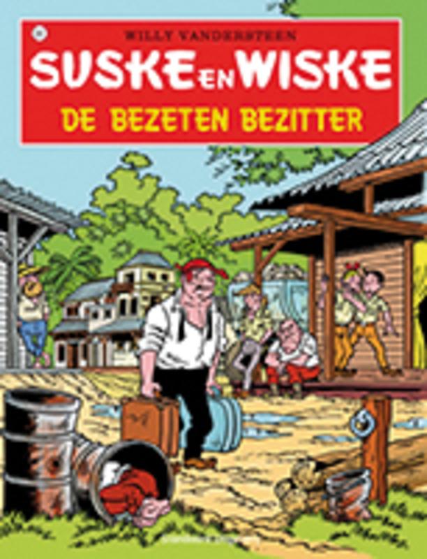SUSKE EN WISKE 222. DE BEZETEN BEZITTER (NIEUWE COVER) SUSKE EN WISKE, Geerts, Paul, Paperback