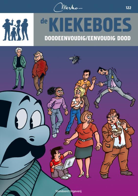 KIEKEBOES DE 122. DOODEENVOUDIG / EENVOUDIG DOOD KIEKEBOES DE, Merho, Paperback