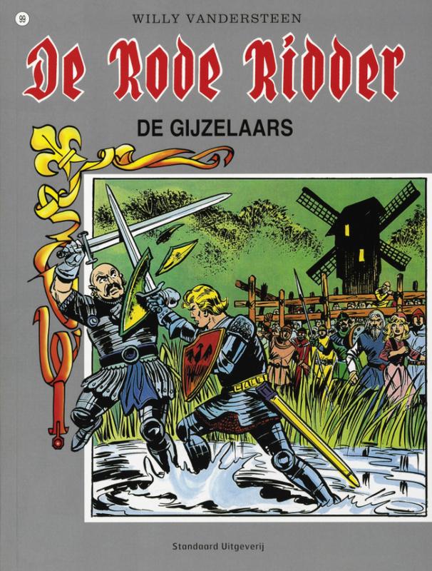 De gijzelaars De Rode Ridder, Vandersteen, Willy, Paperback