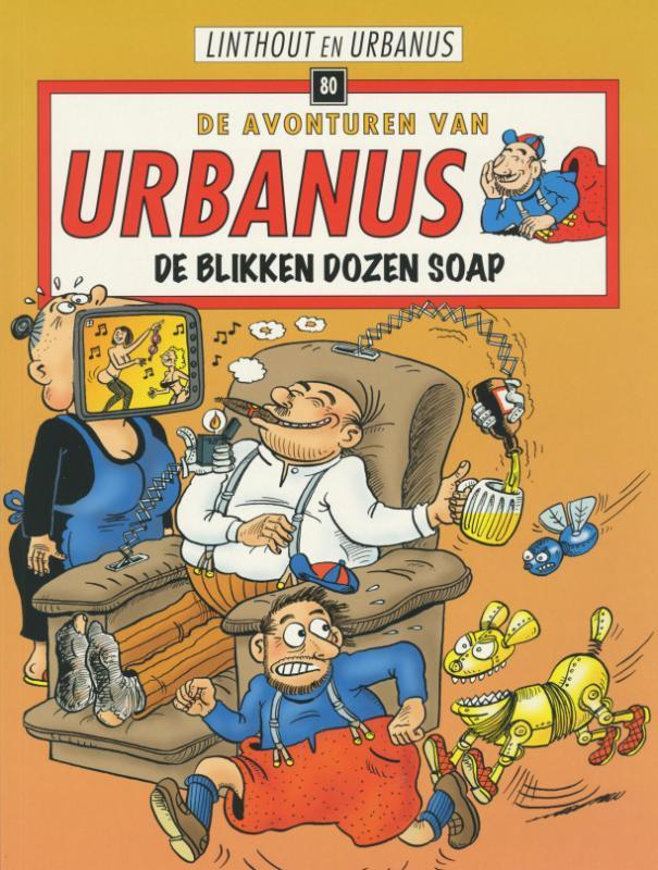 De blikken dozen soap URBANUS, LINTHOUT, WILLY, Hardcover