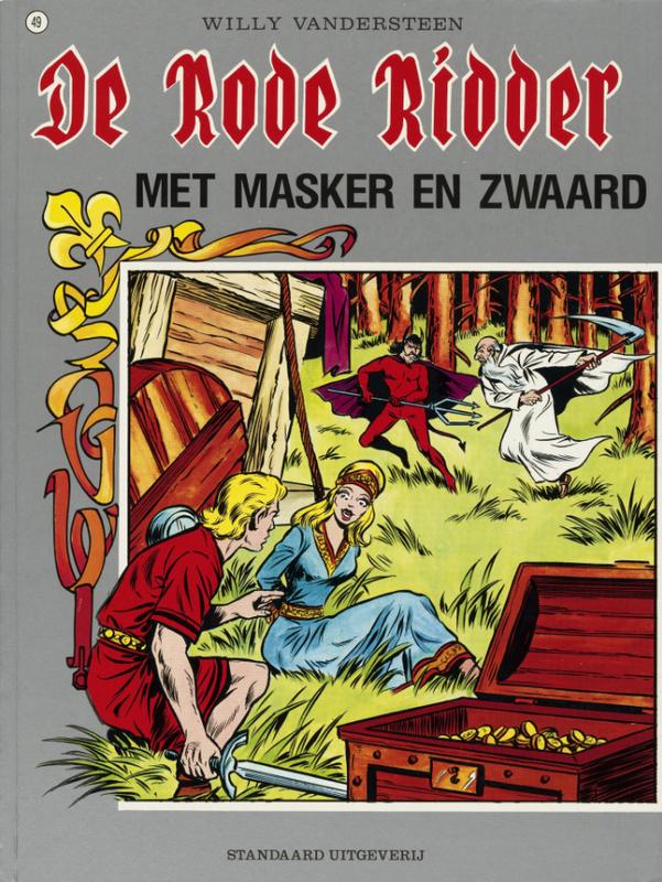 RODE RIDDER 049. MET MASKER EN ZWAARD De Rode Ridder, Willy Vandersteen, Paperback