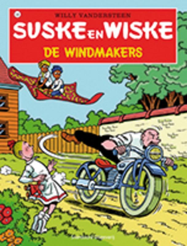 SUSKE EN WISKE 126. DE WINDMAKERS (NIEUWE COVER) Suske en Wiske, VANDERSTEEN, WILLY, Paperback