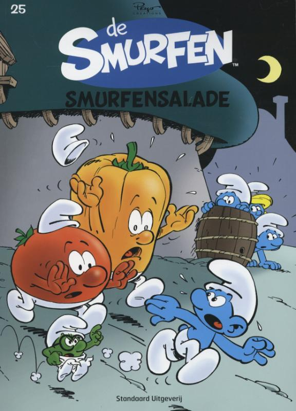 Smurfensalade SMURFEN, Culliford, Thierry, Paperback
