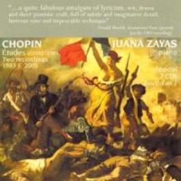 ETUDES JUANA ZAYAS Audio CD, F. CHOPIN, CD
