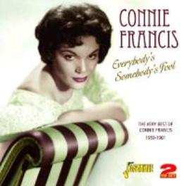 EVERYBODY'S SOMEBODY'S FO ..FOOL. VERY BEST OF 1959-1961 CONNIE FRANCIS, CD