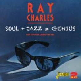 SOUL+JAZZ*GENIUS - FOUR.. .. DEFINITIVE ALBUMS 1960-1961 RAY CHARLES, CD