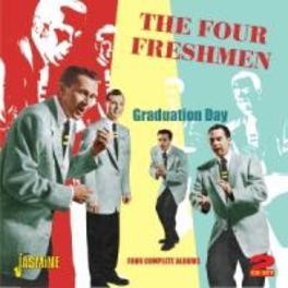 GRADUATION DAY FOUR COMPLETE ALBUMS, 48 TKS ON 2CD'S FOUR FRESHMEN, CD