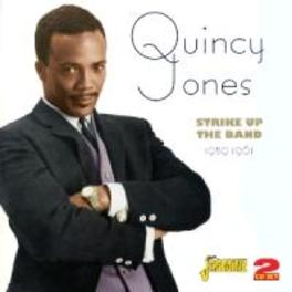 STRIKE UP THE BAND 1959-1961. 4 CLASSIC ALBUMS ON 2CD'S QUINCY JONES, CD