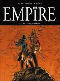 EMPIRE HC01. DE SPOOKGENERAAL EMPIRE, Igor, Kordey, Jean-Pierre, Pécau, Hardcover