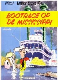 LUCKY LUKE 16. BOOTRACE OP DE MISSISSIPI LUCKY LUKE, Goscinny, René, Paperback