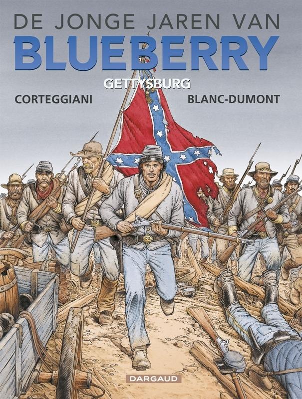 Gettysburg De jonge jaren van Blueberry, BLANC-DUMONT, MICHEL, CORTEGGIANI, FRANCIOS, Paperback