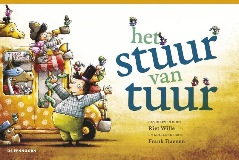 het stuur van tuur Wille, Riet, Hardcover