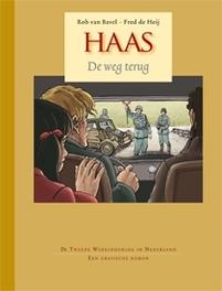HAAS HC01. DE WEG TERUG Haas, HEIJ, FRED DE, BAVEL, ROB VAN, Hardcover