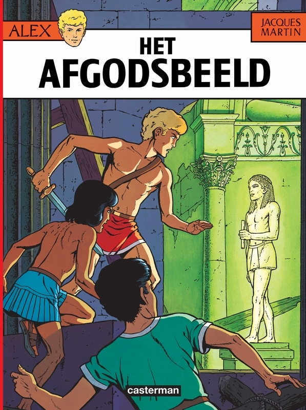 ALEX 09. HET AFGODSBEELD ALEX, Martin, Jacques, Paperback