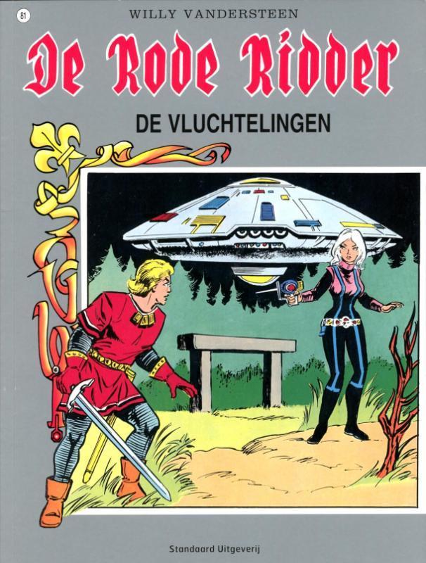RODE RIDDER 081. DE VLUCHTELINGEN De Rode Ridder, Biddeloo, Karel, Paperback