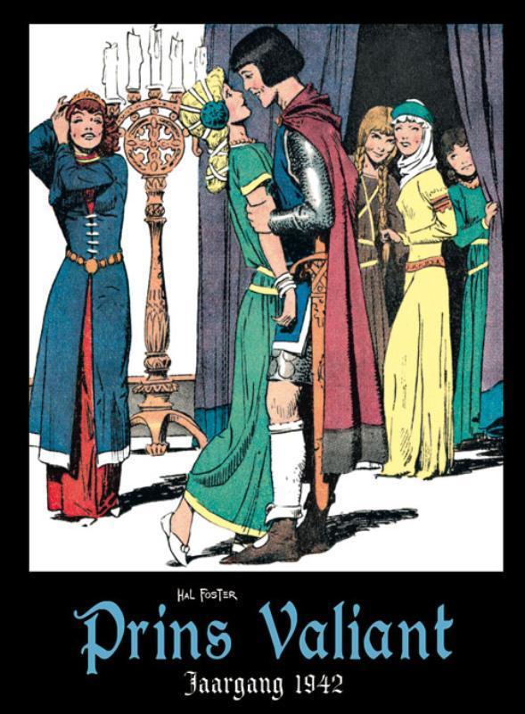 Prins Valiant: Jaargang 1942 jaargang 1942, Hal Foster, Hardcover
