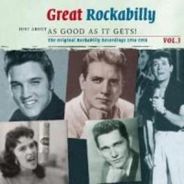 GREAT ROCKABILLY VOL.3 WDON WILLIS/GLEN GLENN/BILLY ADAMS/BILLY BROWN Audio CD, V/A, CD