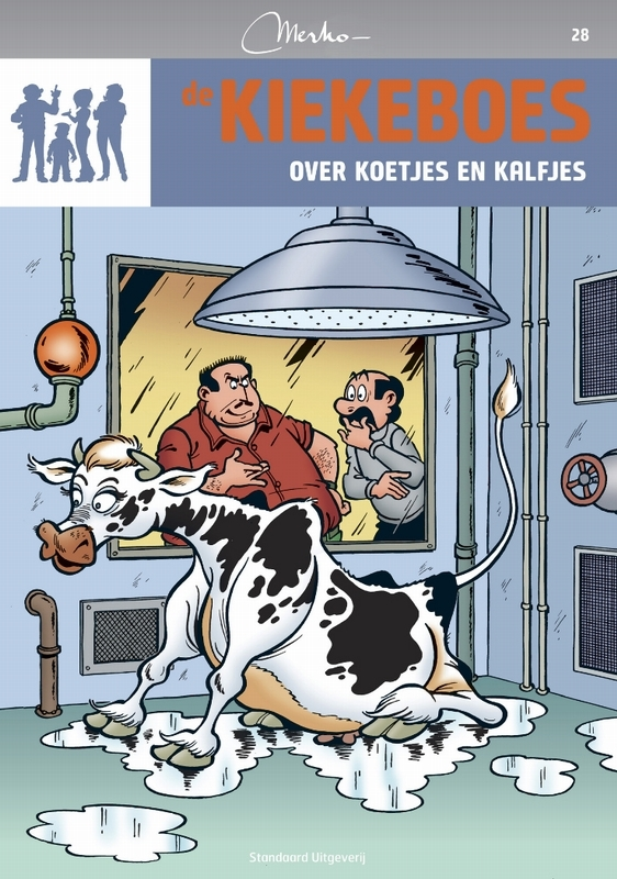 Over koetjes en kalfjes KIEKEBOES DE, Merho, Paperback