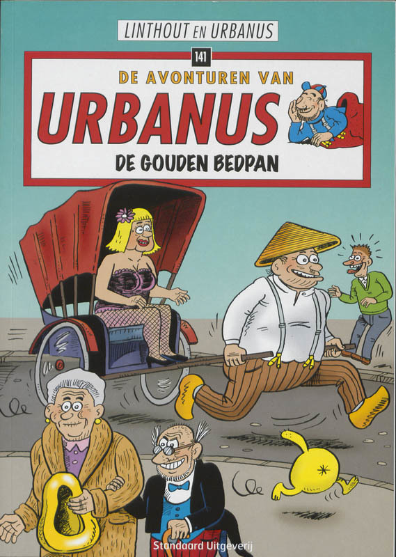 URBANUS 141. DE GOUDEN BEDPAN URBANUS, Willy Linthout, Paperback