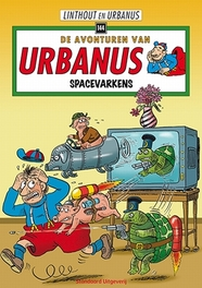 URBANUS 144. SPACEVARKENS Urbanus, Willy Linthout, Paperback