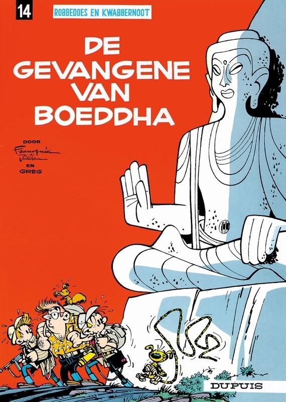 ROBBEDOES & KWABBERNOOT 14. DE GEVANGENE VAN BOEDDHA ROBBEDOES & KWABBERNOOT, Jidéhem, Paperback