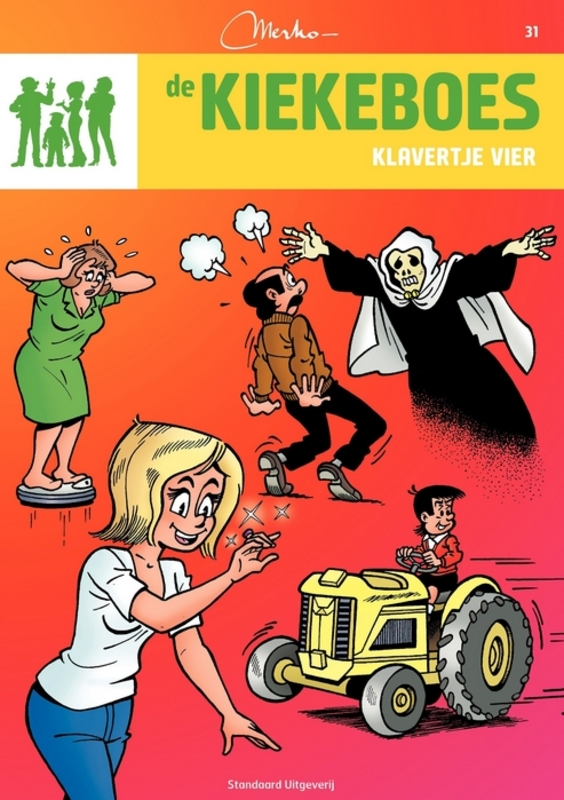 KIEKEBOES DE 031. KLAVERTJE VIER De Kiekeboes, Merho, Paperback