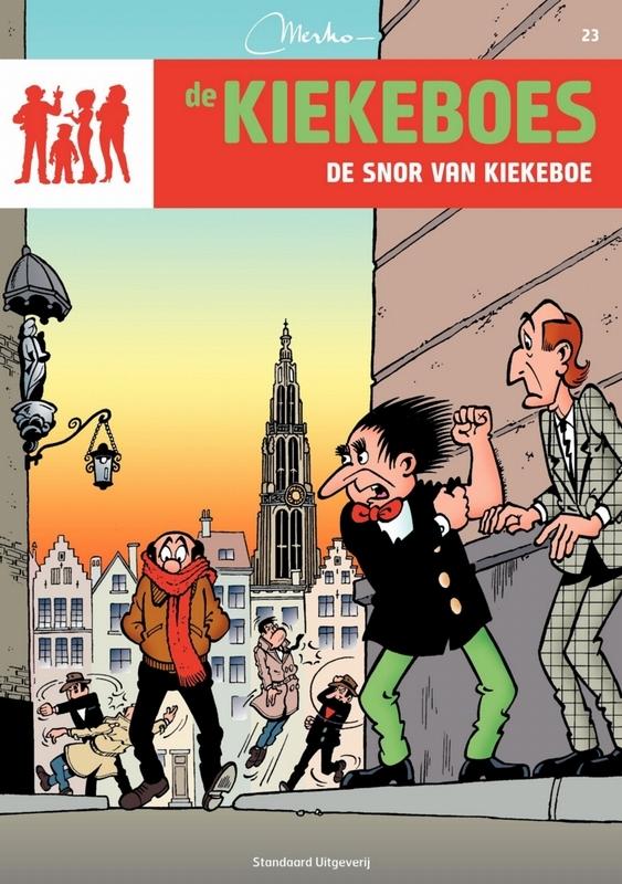 De snor van Kiekeboe KIEKEBOES DE, Merho, Paperback