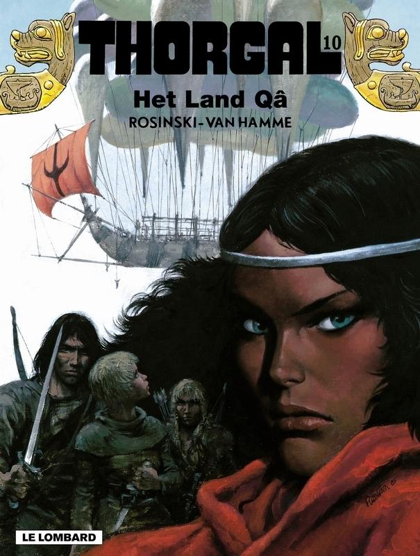 THORGAL 10. HET LAND QA THORGAL, Van Hamme, Jean, Paperback